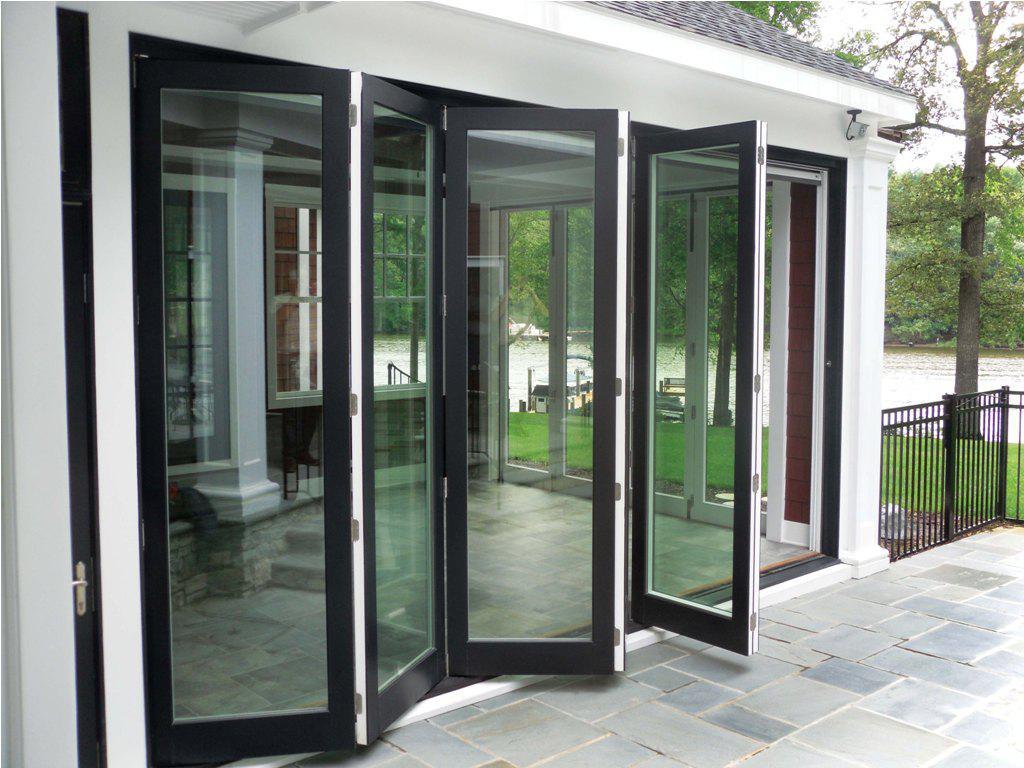 Примеры применения дверей для «теплого» алюминиевого остекления 2