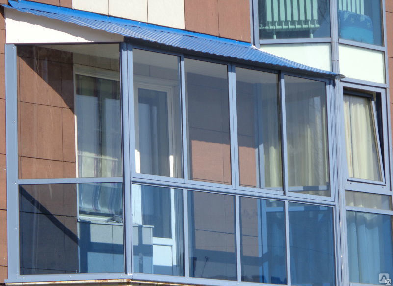 Примеры алюминиевых конструкций с применением «холодного» профиля 1